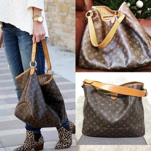 ✅DISCONTINUED delightful mm Louis Vuitton